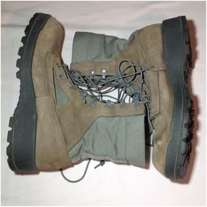 Men Sz 8.5 Belleville AFTW Military Gore-Tex Boots